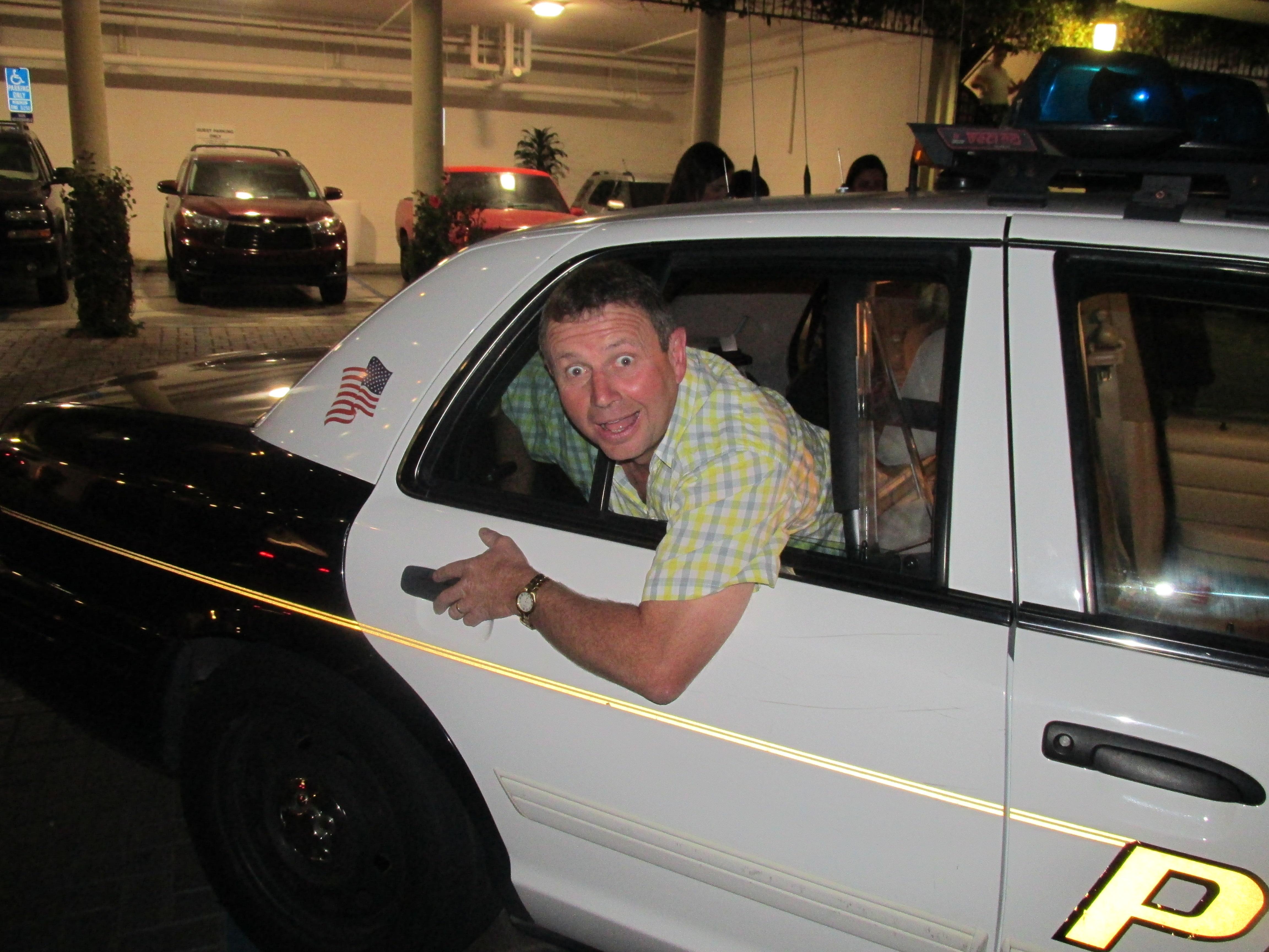 Police car Anaheim