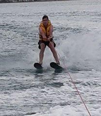 BF water skiing Nov