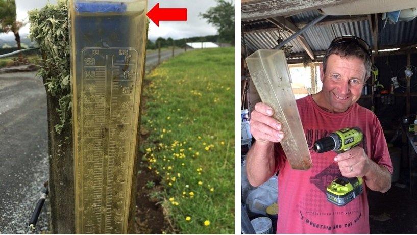 NR rain gauges