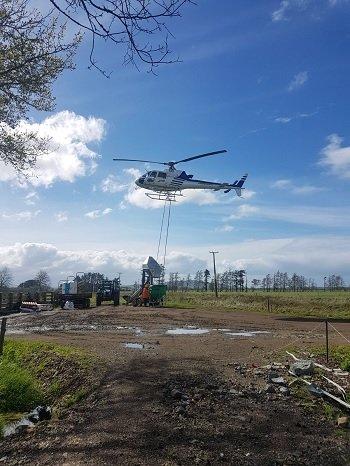 BF helicopter fert